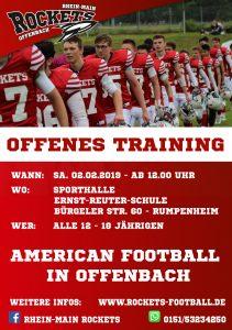offenes Jugend-Training @ Sporthalle der Ernst-Reuter-Schule | Offenbach am Main | Hessen | Deutschland